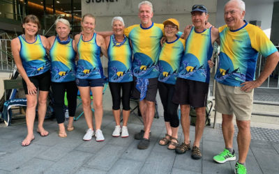 Camden Haven Paddlers at Lunar New Year Regatta February 2020
